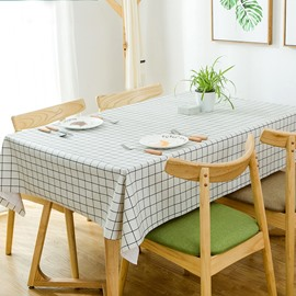 PVC Rectangle Countryside Style Waterproof Table Cloth