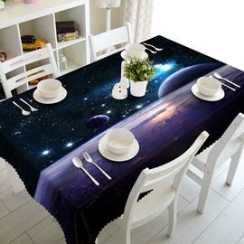 Dreamy Starry Sky Prints Design Washable Home Decorative 3D Tablecloth