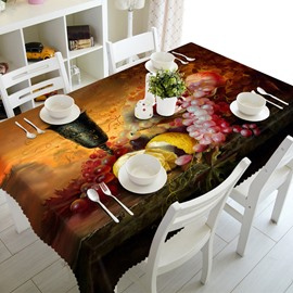 European Style Fruits Prints Design Home Decorative 3D Tablecloth
