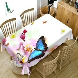 European Style Polyester Oilproof Rectangle 3D Tablecloth