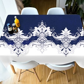 European Style Polyester Waterproof Home Use 3D Tablecloth