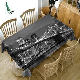 Home Use Polyester Soft Oilproof European Style 3D Tablecloth