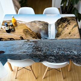 European Style Vibrant Color Home Decoration 3D Tablecloth
