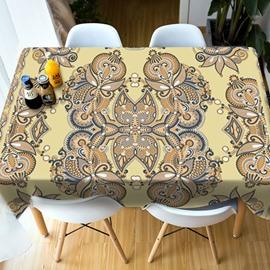 PartiesΠcnics Realistic Design Vivid Color Rectangle 3D Tablecloth