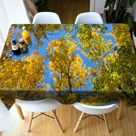 Parties&Picnics Dinner Multicolor Polyester 3D Tablecloth