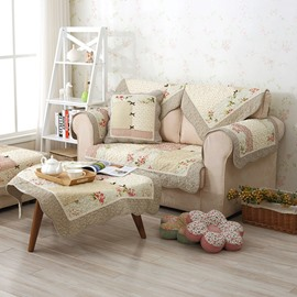 Winter Cotton Handmade Three-dimensional Embroidery Country Style Cushion Sofa Covers