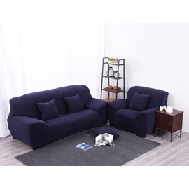 Elegant Simple Style Plain Pattern Slip Resistant Sofa Cover