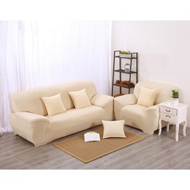 Fashion Simple Style Beige Color Pattern Washable Sofa Cover