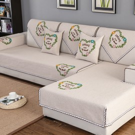 All Seasons Simple Style Anti-Slip Water Resistant Sofa Covers
