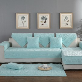 Simple Style Polyester Anti-Slip Easy-Going Soft Sofa Covers