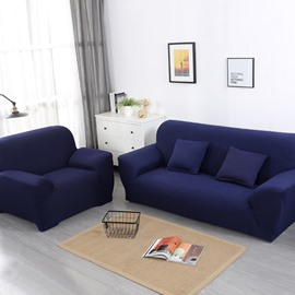 Pure Color Single Seat Full Coverage Simple Style Sofa Covers