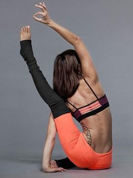 Elastics Closure Type Color Matching Style Moderate Elasticity Sport Pants