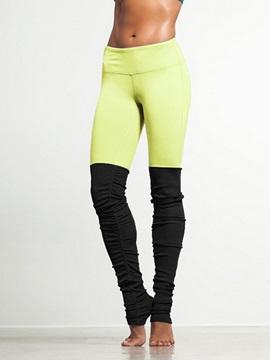 Color Matching Pattern Full Length Skinny Model Elastics Closure Type Sport Pants
