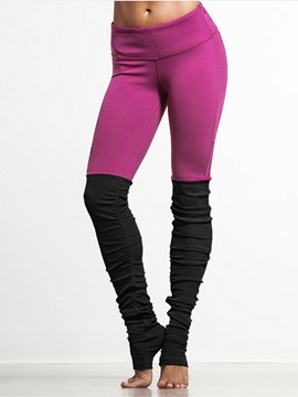 Skinny Model Elastics Closure Type Full Length Moderate Elasticity Sport Pants