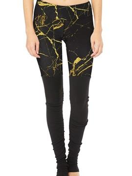 Polyester Material Skinny Model Moderate Elasticity Full Length Sport Pants