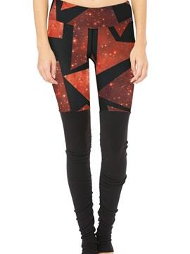 Skinny Model Polyester Material Moderate Elasticity Full Length Sport Pants