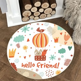 Balloon Pattern Creative Environmental Friendly Waterproof Floor Sticker