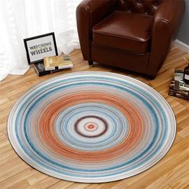 23*23in Creative Circle Pattern Environmental Friendly Waterproof Floor Sticker