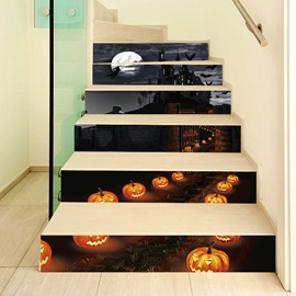Halloween Creative Cartoon Wall Stickers Wall Decorations Stairs not fade Waterproof Removable