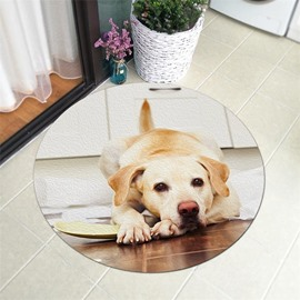 Dog Pattern Creative Environmental Friendly Waterproof Floor Sticker