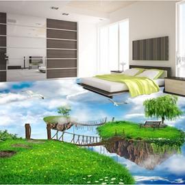 Charming Natural Scenery Pattern Nonslip and Waterproof 3D Floor Murals