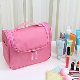 Pink Waterproof Travel Toiletry Bag & Personal Organize Cosmetic Bag