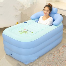 Creative Design Removable Coverd Inflatable Bathtub