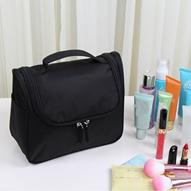 Black Waterproof Travel Toiletry Bag & Personal Organize Cosmetic Bag