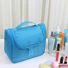 Blue Waterproof Travel Toiletry Bag & Personal Organize Cosmetic Bag