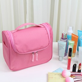 Pink Waterproof Travel Toiletry Bag & Personal Organize Cosmetic Bag