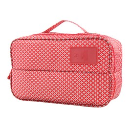 Red Stars Multi-Functional Travel Underwear and Socks Organizer Bag
