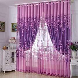 European Style Heat Insulation Feature Curtain Sets