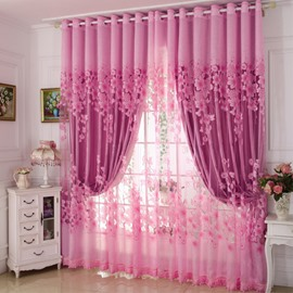 Blackout Classical Polyester Material Curtain Sets