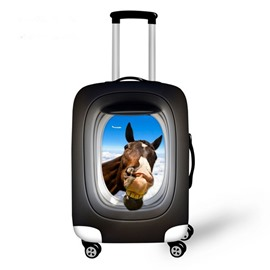 Animal Head Pattern 3D Painted Luggage Cover