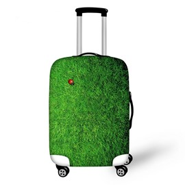 Bright Glasses with Coccinella Septempunctata Pattern 3D Painted Luggage Protect Cover