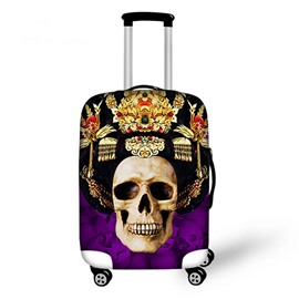 Creative Skull Queen Pattern 3D Painted Luggage Cover