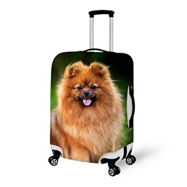 Adorable Puppy Pattern 3D Painted Luggage Cover