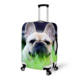 Lovely Shar Pei Pattern 3D Painted Luggage Cover