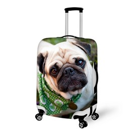 Innocent Puppy Dog Face Pattern 3D Painted Luggage Cover