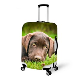Fashion Dog Pattern 3D Painted Luggage Cover