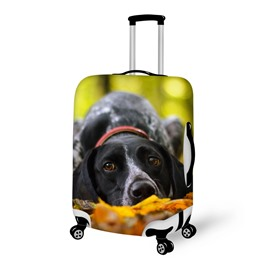 Glamours Dog Pattern 3D Painted Luggage Cover