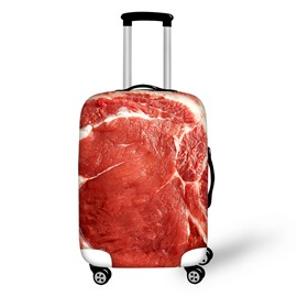 Meat Flag Waterproof Stretch18-30 Inch 3D Printed Luggage Protector Covers