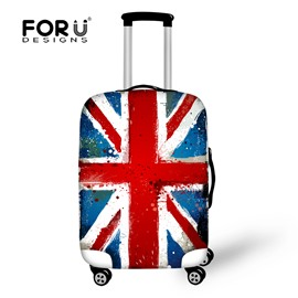 Big Flag American UK 18-30 Inch 3D Printed Luggage Protector Covers