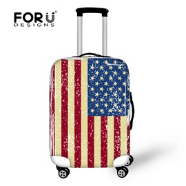 Old Sense Flag American 18-30 Inch 3D Printed Luggage Protector Covers