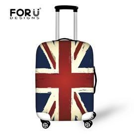 Big Flag Waterproof UK 18-30 Inch 3D Printed Suitcase Luggage Protector Covers