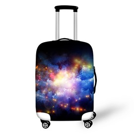 Colorful Cloudy Sky Galaxy Waterproof Washable Spandex for 18-30 Inch 3D Luggage Cover