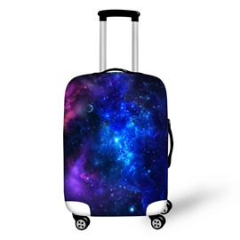 Galaxy Universal Stars Blue Amazing Waterproof Spandex 3D Luggage Covers