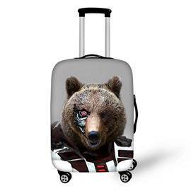 One-eyed Bear Robots Personality Waterproof Outdoor Travel 3D Luggage Covers