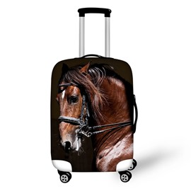 3D Printing Horse Spandex Travel Dust proof Luggage Cover