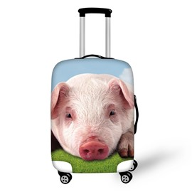 Pink Pig Adorable 3D Pattern Travel Luggage Cover Suitcase Protector 19 20 21